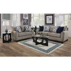 Gray Furniture In Living Room Leather Chair Rent To Own Loveseats Sofas And Couches Aaron S 2 Piece Eden Collection