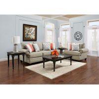 Fusion Furniture Living Room Sets 7-Piece Villa Living ...