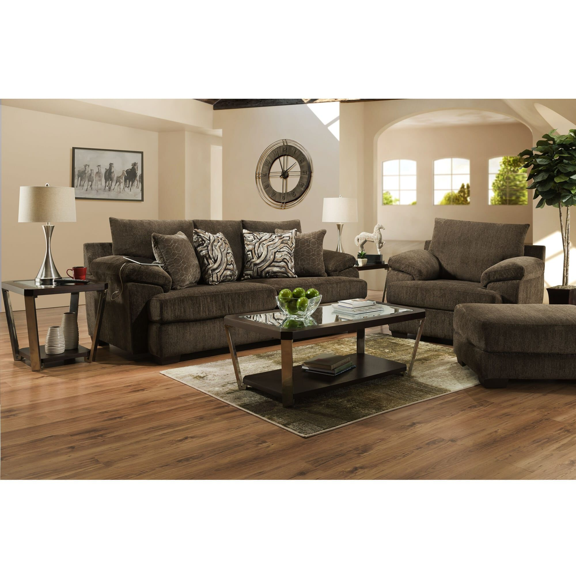 3 piece living room table set valance rent to own furniture aaron s phoenix collection