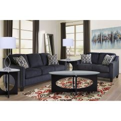 Sofa And Loveseat Set Up Velvet Canada Rent To Own Loveseats Sofas Couches Aaron S 2 Piece Creeal Heights Living Room Collection