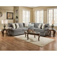 United Sectionals 2-Piece Naeva Living Room Collection ...