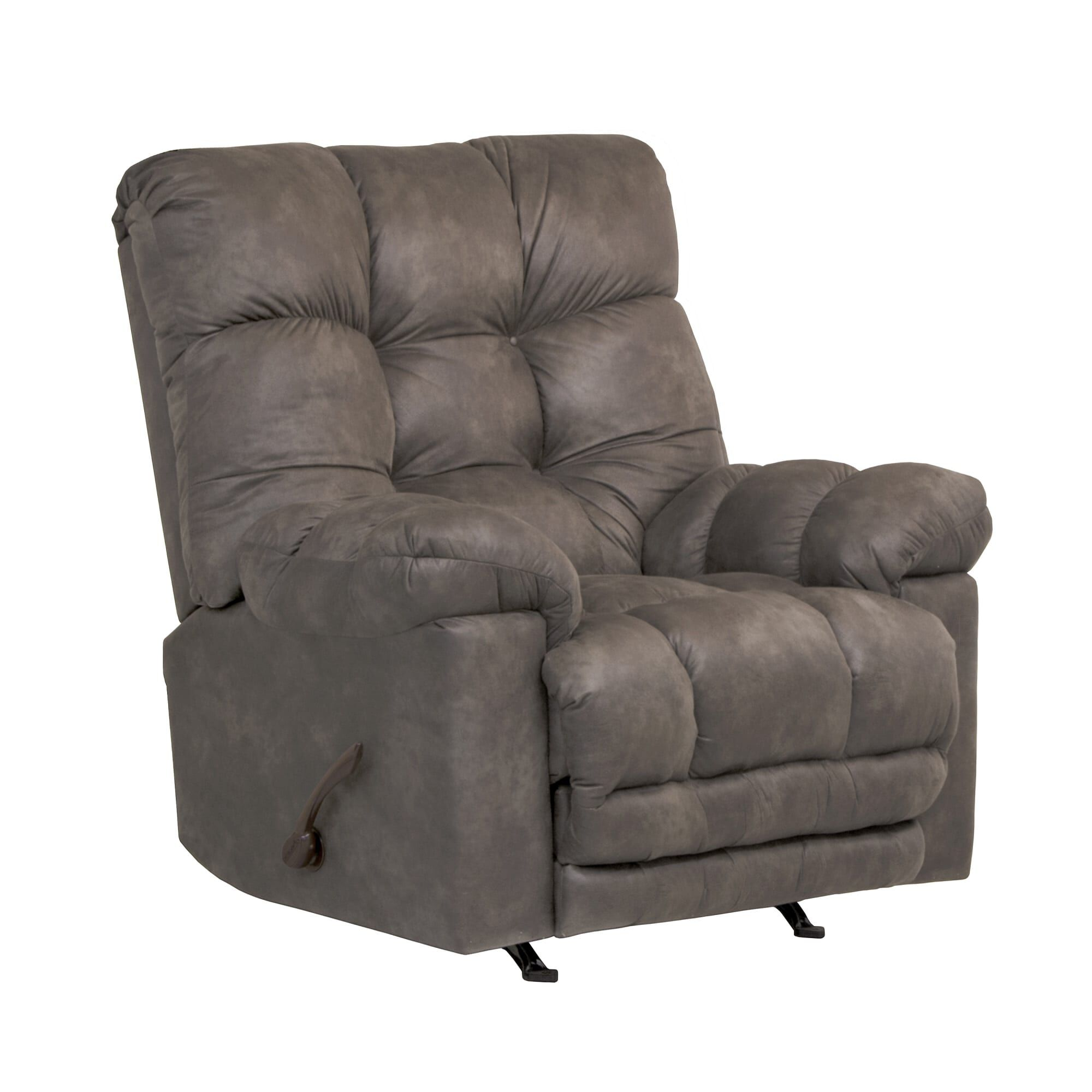 recliner chairs cheap bedroom chair no arms rent to own aaron s heat massage rocker