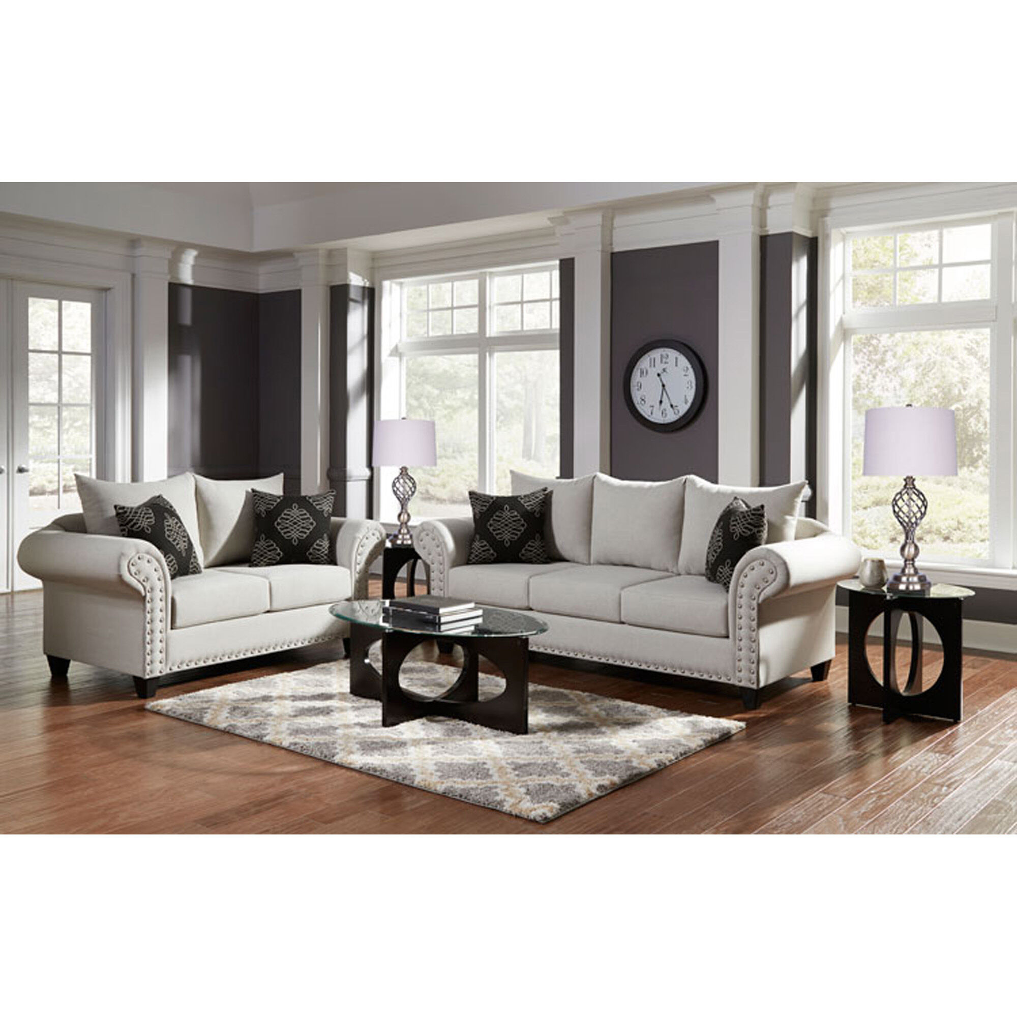 Woodhaven Industries Living Room Sets 7Piece Beverly
