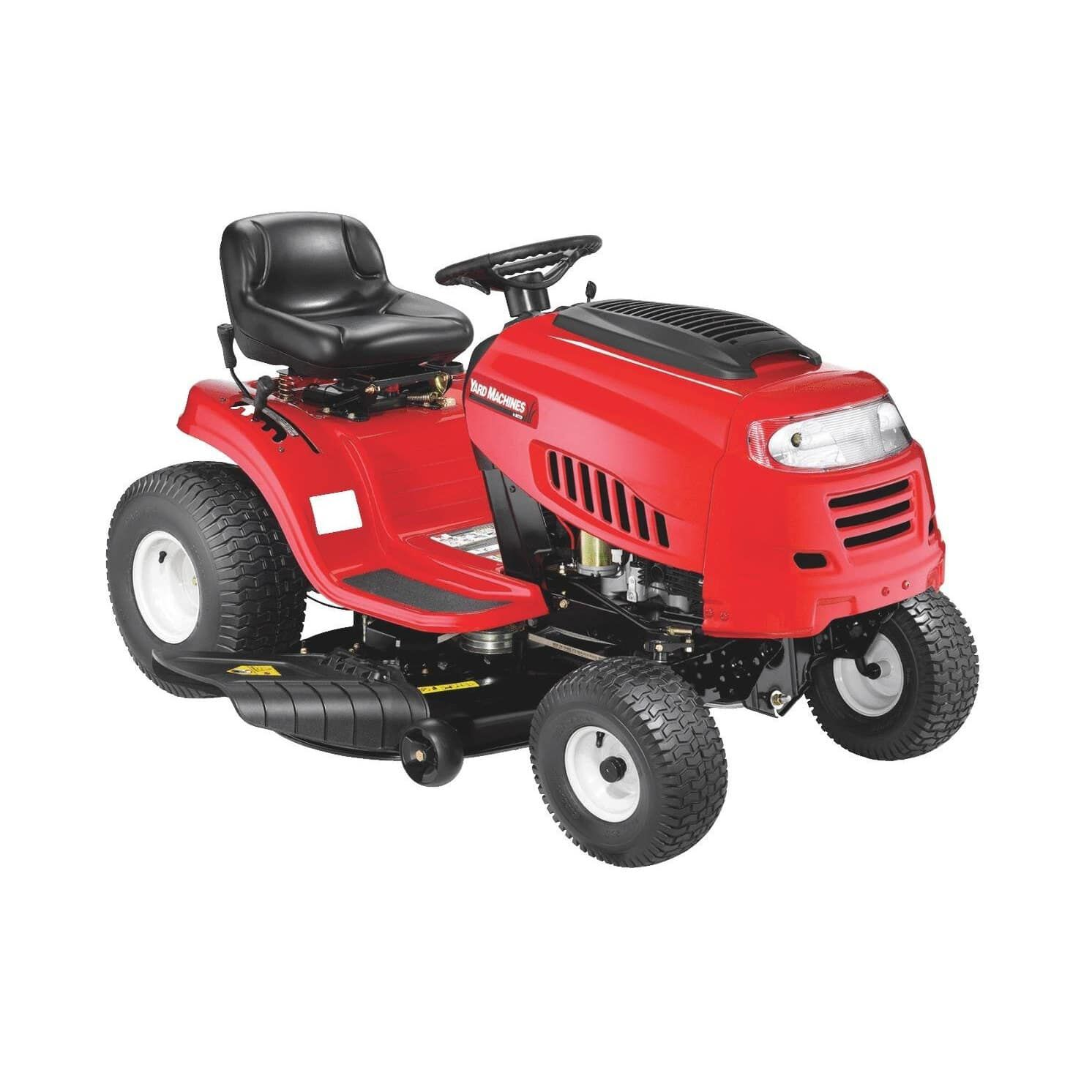 yard machines outdoor power 42 420cc riding lawn mower with 7 speed manual transmission [ 1000 x 1000 Pixel ]