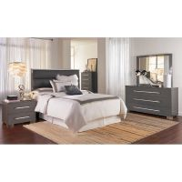 IdeaItalia Bedroom Groups 5-Piece Dimora II Queen Bedroom ...