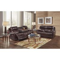 Happy Leather Sofa & Loveseat Sets 2-Piece James Reclining ...