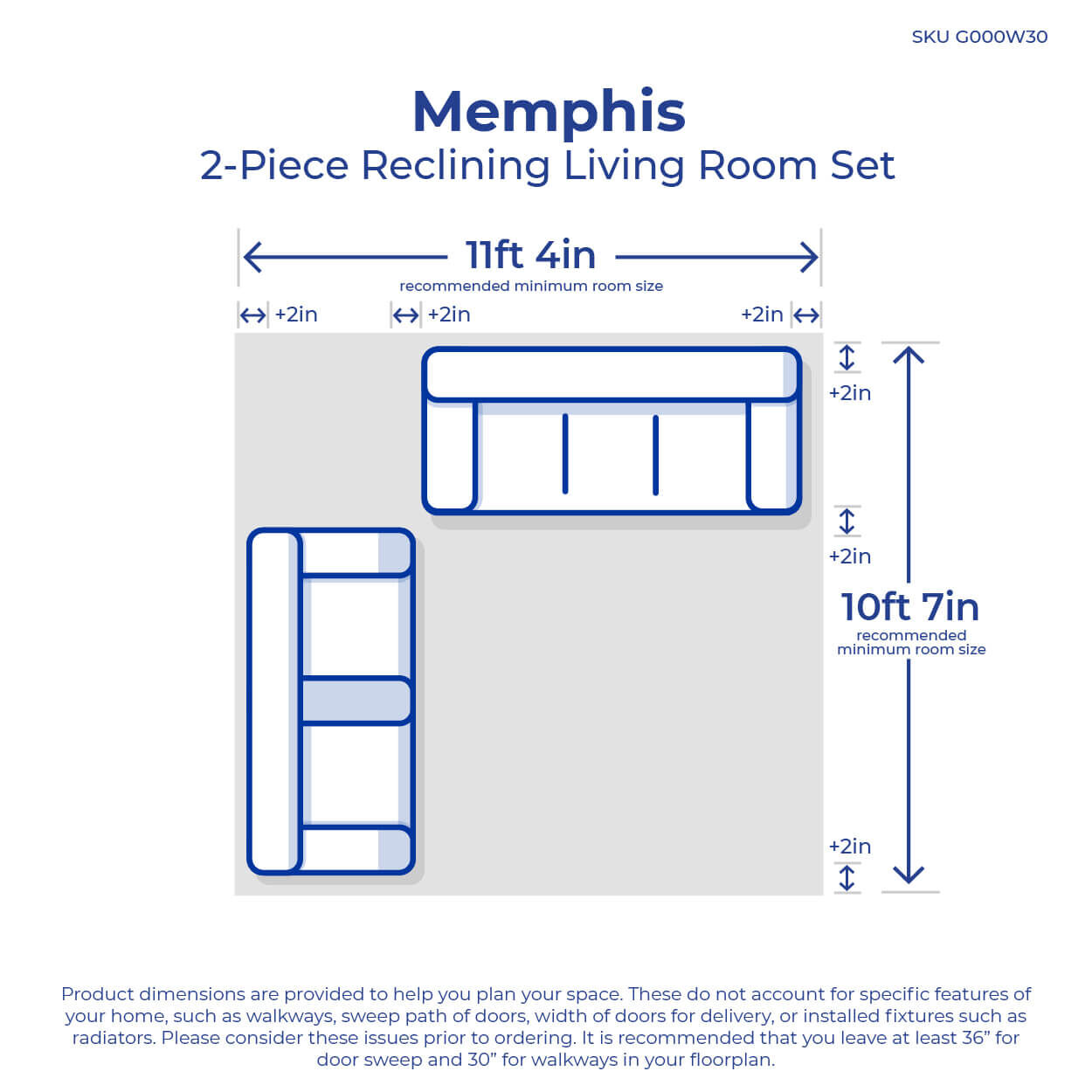 small resolution of 2 piece memphis reclining living room collection