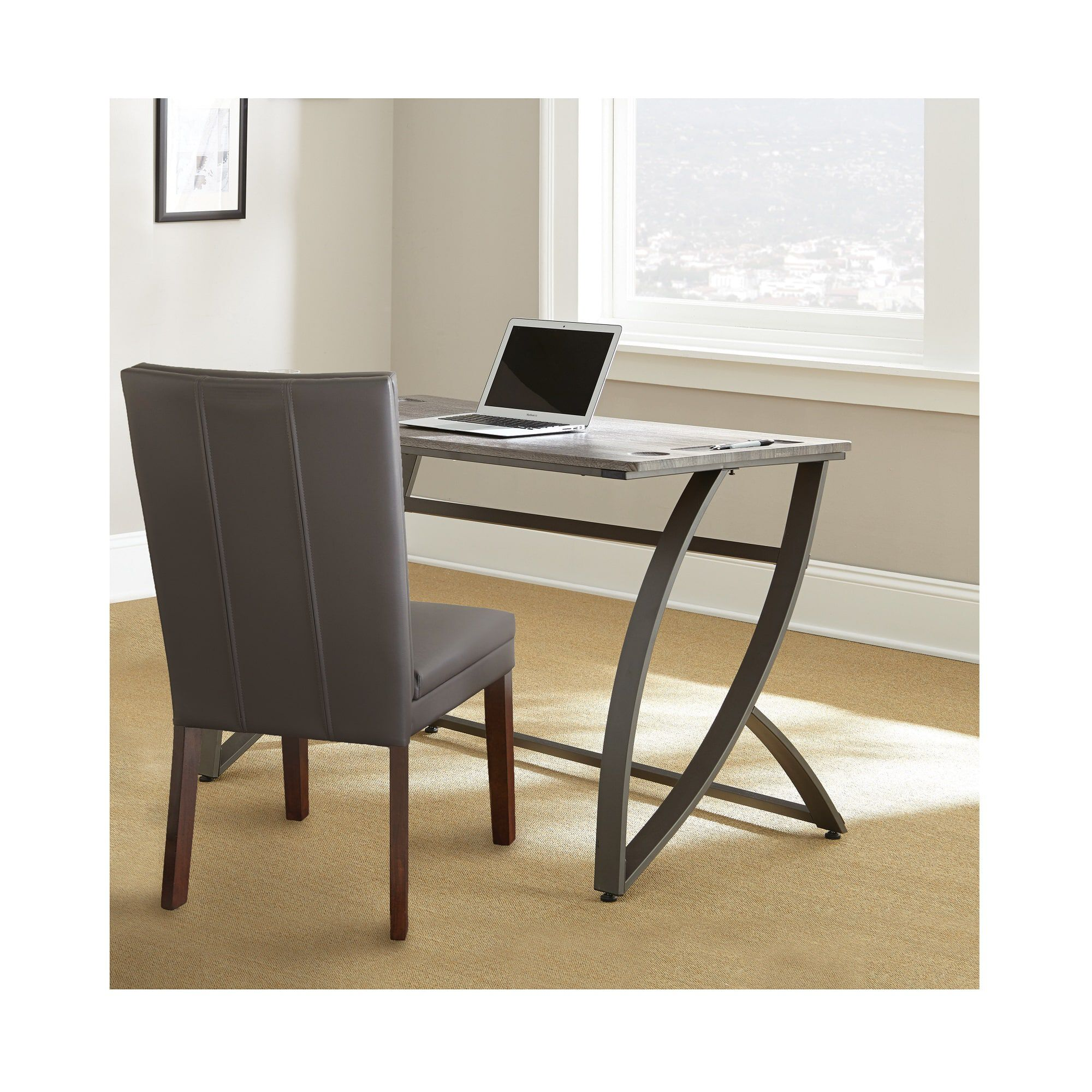 Steve Silver Furniture 2 Piece Hatfield Desk And Chair Set