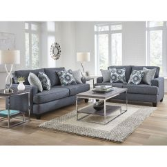 Living Room Tables At Aaron S What Size Area Rug Do I Need For My Woodhaven Industries Sofa Loveseat Sets 2 Piece Carmela Collection