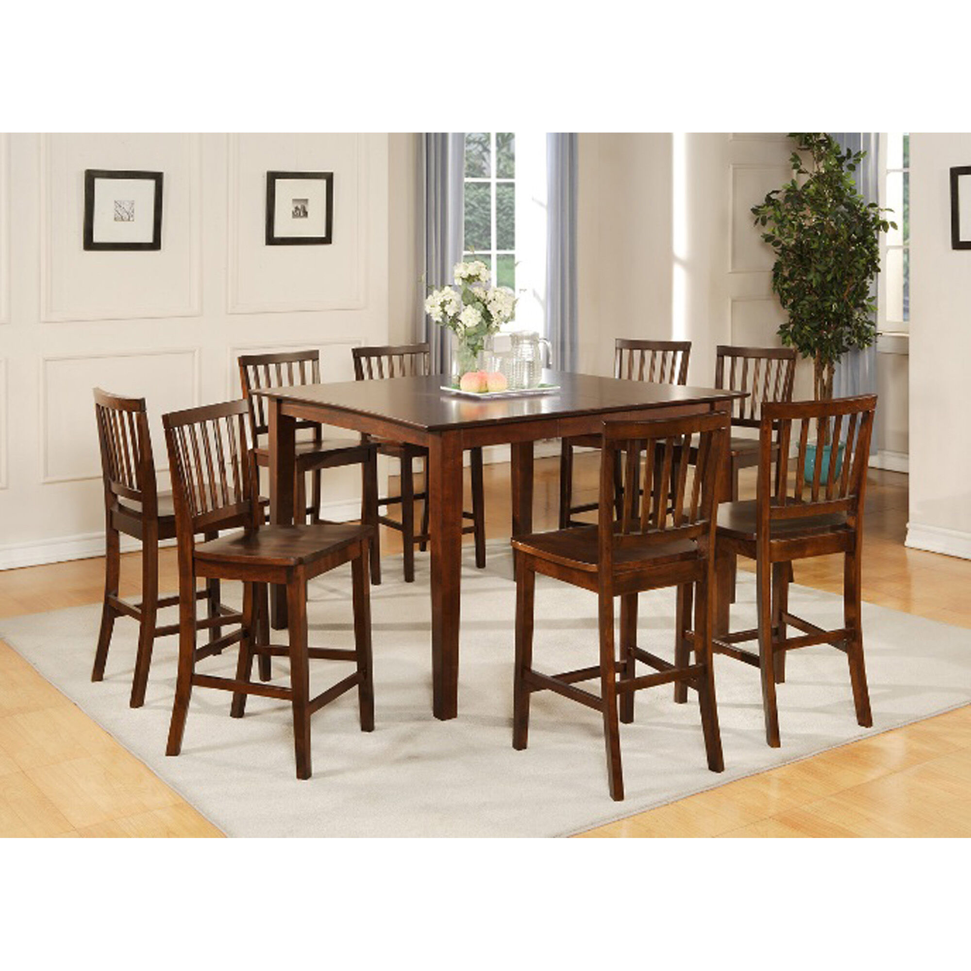 Steve Silver Dining Room 9 Piece Branson Counter Height