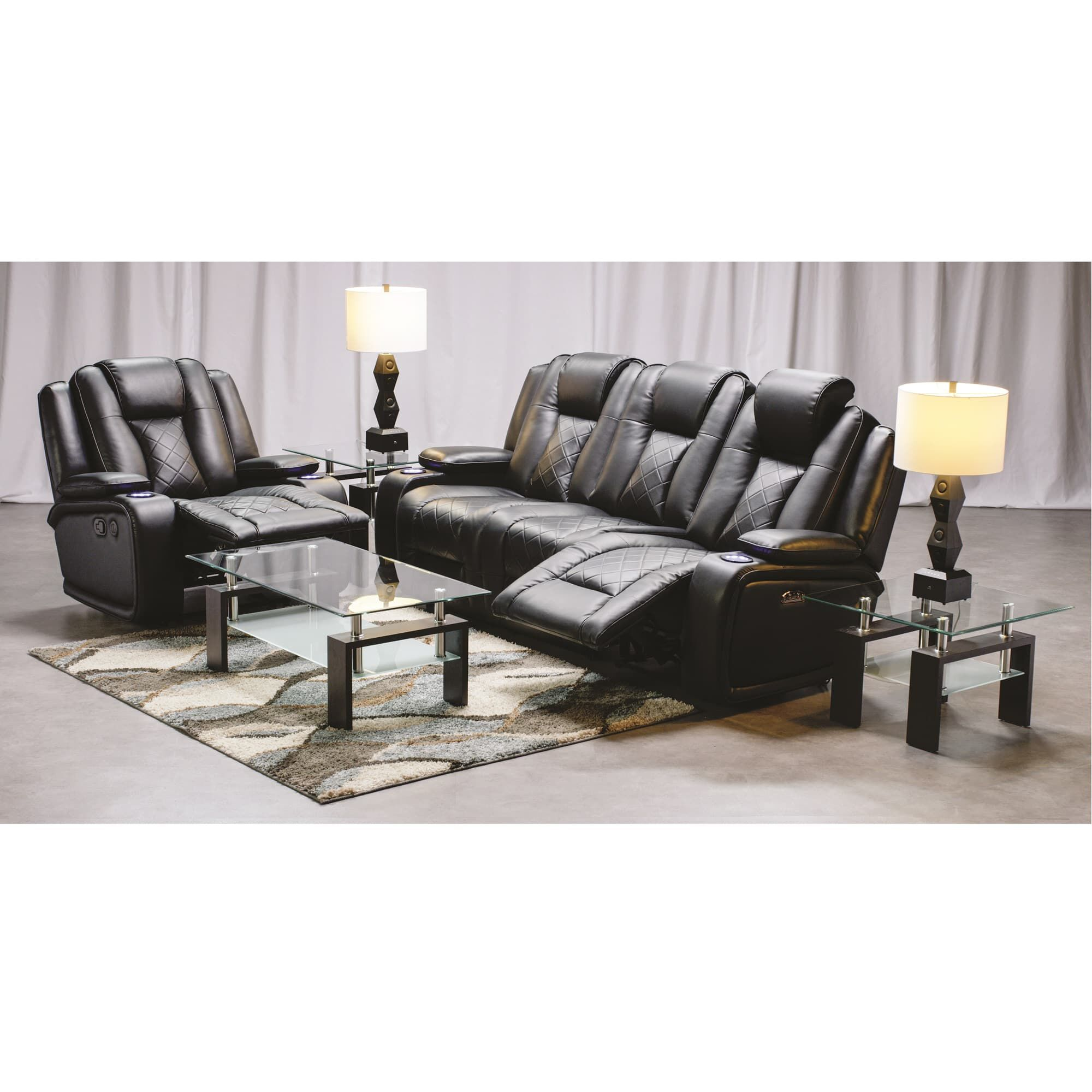 synergy recliner chair reclining rocking home furnishings 2 piece transformer living room collection
