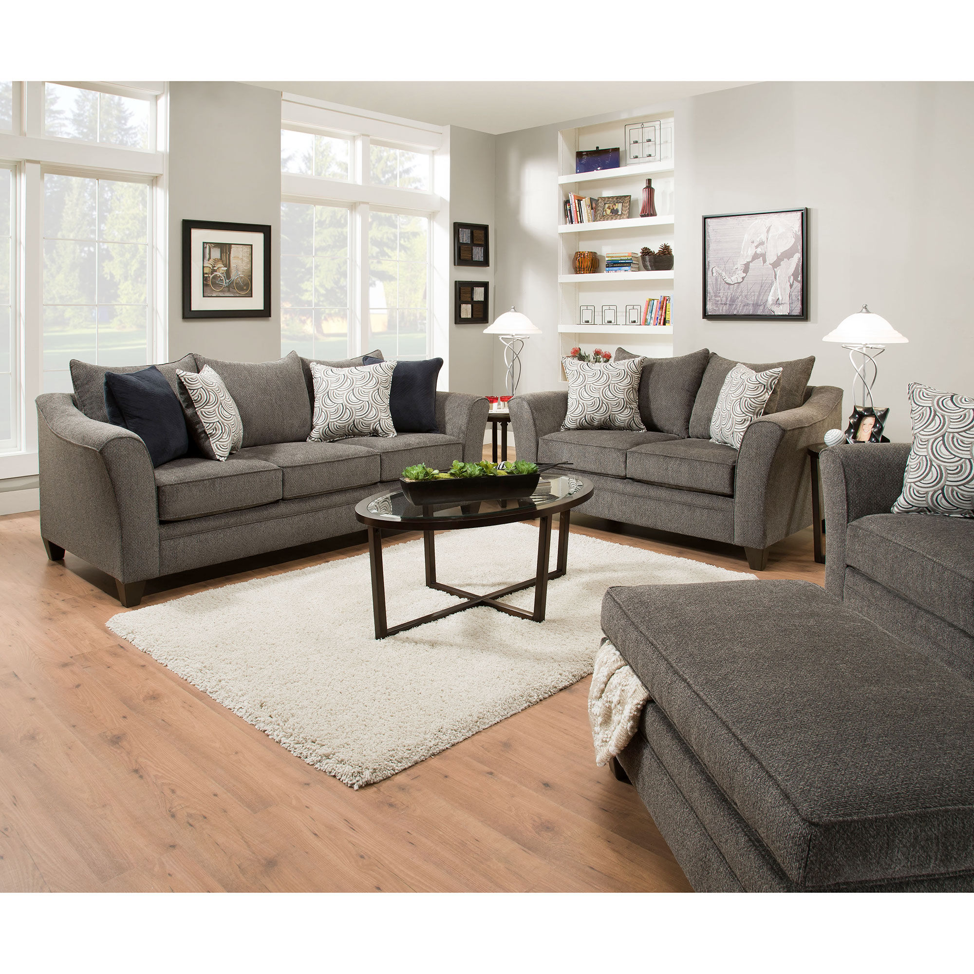 woodhaven living room furniture end table for rent to own   aaron's