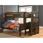 Rent To Own Oak Furniture West 7 Piece Twin Full Storage Bunk Bed At Aaron S Today