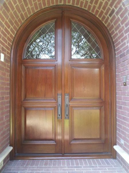Front Door Refinishing Gallery  Aarons Touchup