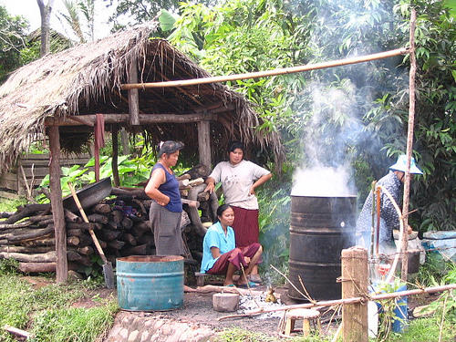 Hill Tribe Village Cooks