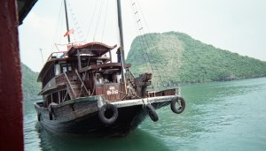 Boat at Halong Bay