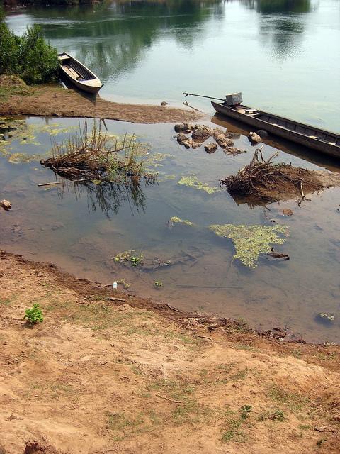 Don Khone Boat Landing