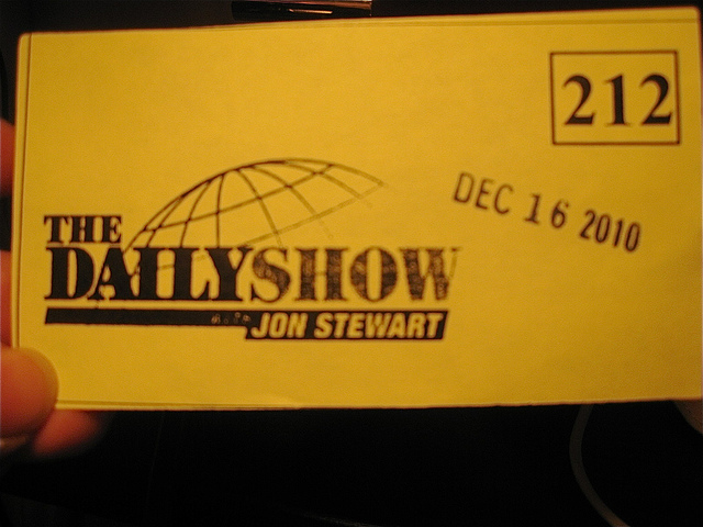 Daily Show Ticket