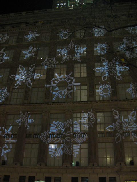Saks Fifth Avenue Snowflakes