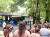 Tour gide station at Dunn's River Falls