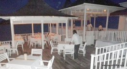 The Bayside restaurant again on Thursday