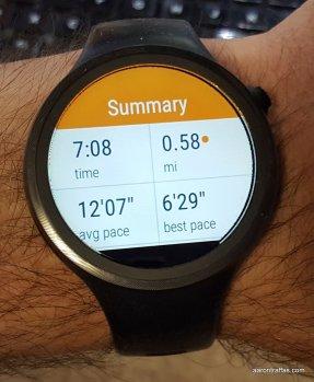 Moto Body summary after run