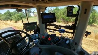 Tractor screens