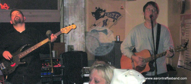 Aaron Traffas and Chris Goering - ag rock - live music in Medicine Lodge KS