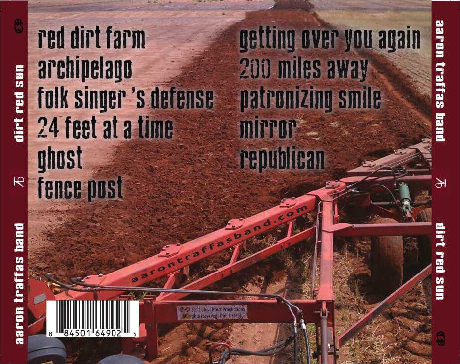 Dirt Red Sun back cover