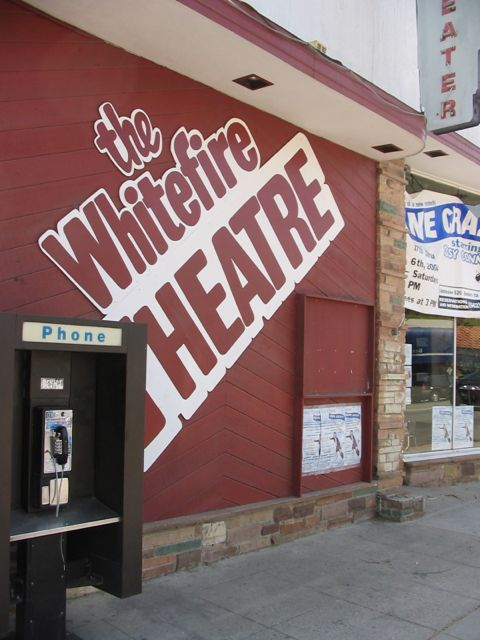 The Whitefire Theater where we performed