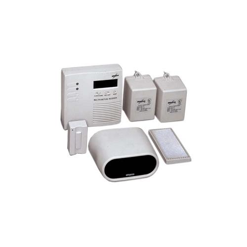EWP202C  Amseco Wireless Photobeam Door Chime with EntryExit People Counters