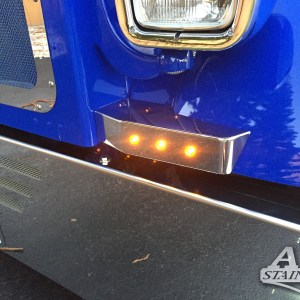 Blinker Bar Small with 3/4 LED SS for Petb 379Part#: 010105.1.1.14 $365 /pair