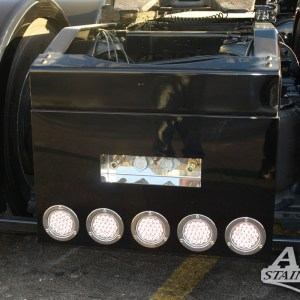 "T Bumper (Square) Universal Rear For Paint 5 LED 4"" (Lights not included) - CUSTOM  Part #: 000008.2.1.554  Call For Price"