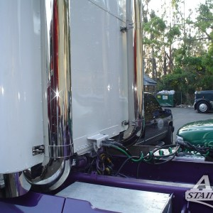 """Exhaust 8"""" 45 Extended  - All Freightliner Models  Part#: 030009.1.0.14 - Call for Price"""