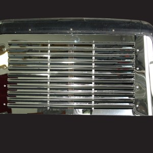 Grill Louvered SS for Ford Aeromax  Part#: 070603.1.0.4 $645