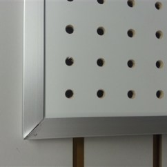 Prep Tables For Kitchen Paula Deen Cabinets Clearance, Aluminum Framed Pegboard