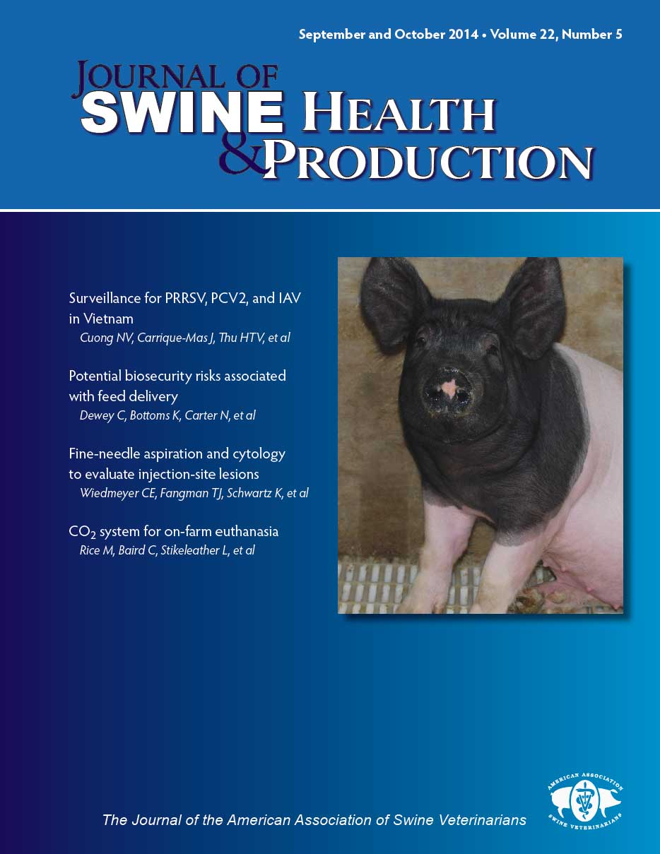 Journal of Swine Health and Production