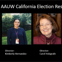 AAUW California 2019 Election Results are IN!