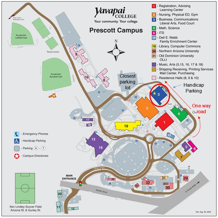 AAUW sept and oct 2018 old home pages - Prescott (AZ) nch AAUW Yavapai College Prescott Campus Map on verde valley school campus map, university maryland college park campus map, yavapai county map, mesa college campus map, yavapai east map, ohio state university 11 x 17 campus map, georgia gwinnett college campus map, nau south campus map, northern arizona university campus map, edinboro university campus map,