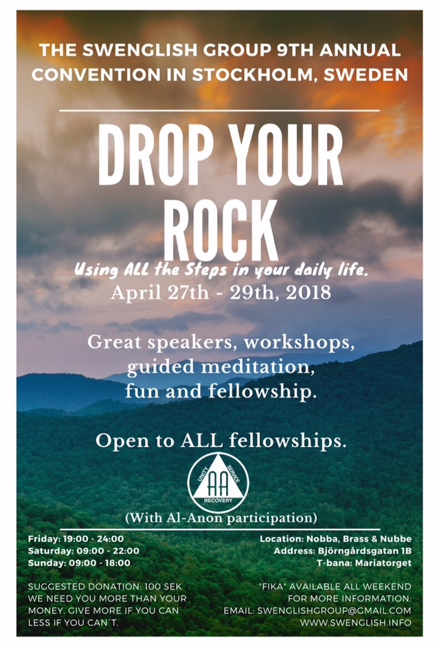 Drop Your Rock – 9th Annual International Swenglish
