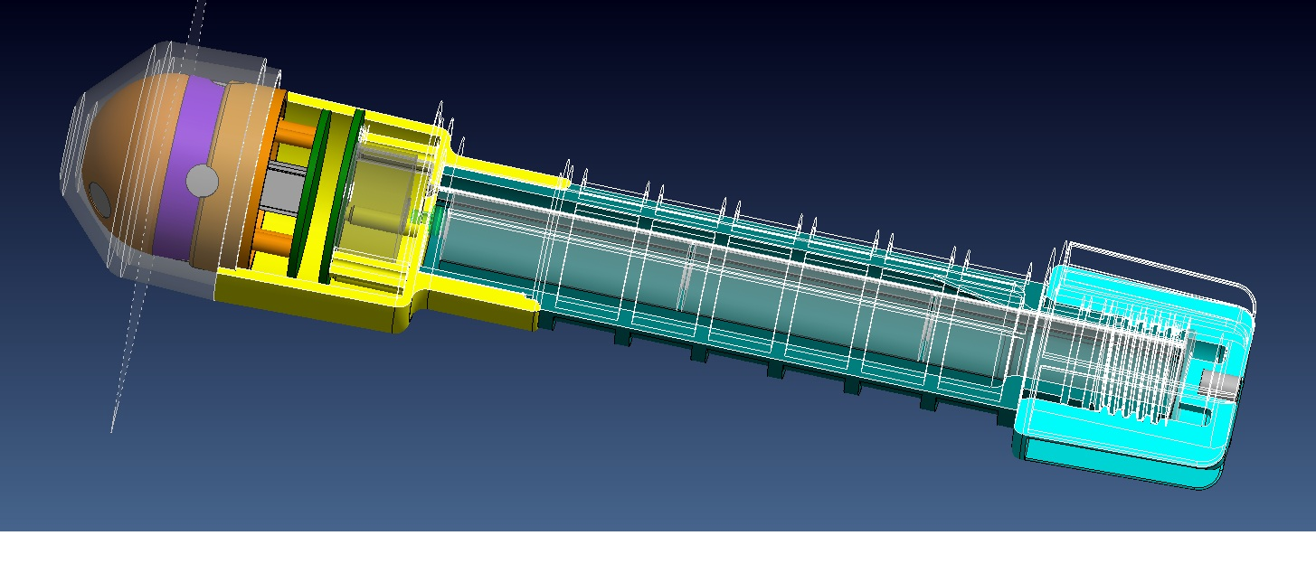 Injection moulding design for Flare Housing
