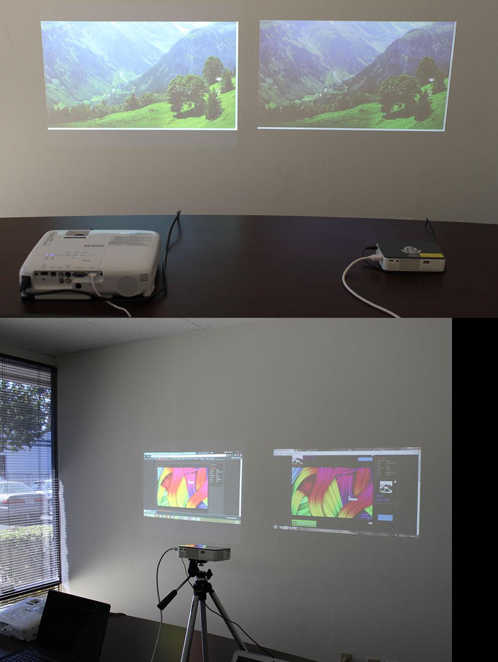 AAXA P450 Pico Projector  DLP Handheld Mini Projector