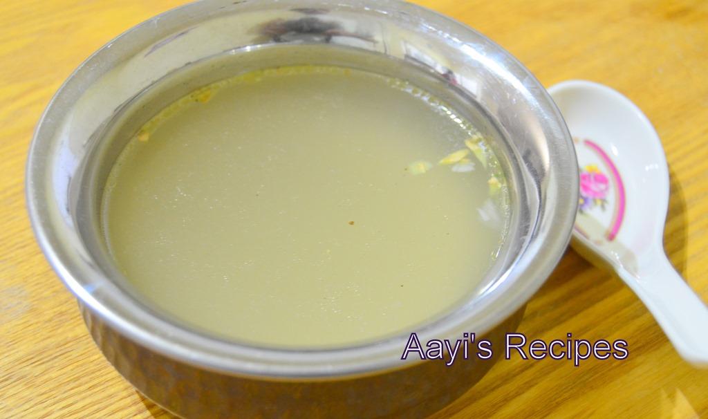 Asian ginger broth recipe