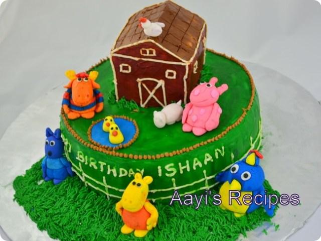 backyardigans cake2