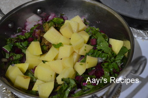 beetroot leaves-potato soup3
