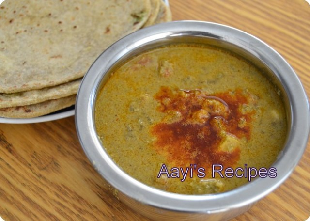 chicken curry with ghee
