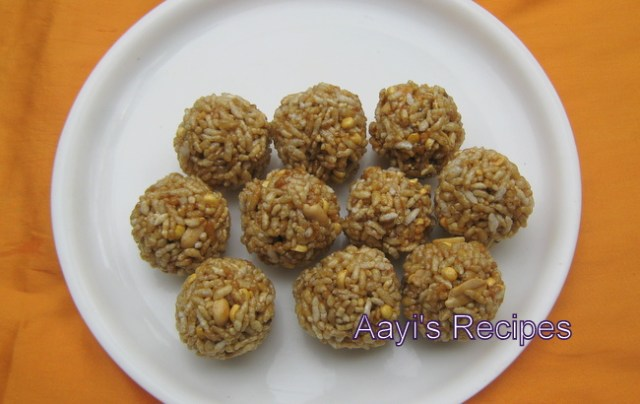 puffed rice laddu2