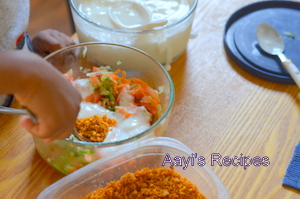 raita with chutney pitto3