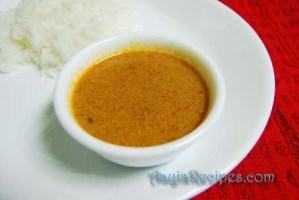 Jeera-Pepper Kadhi (Jeer-mirya kadi)