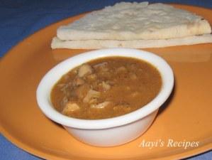 Mushroom Curry(Almbe Garam-masale ambat)